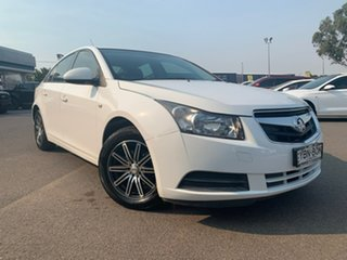 2011 Holden Cruze CD White Sports Automatic Sedan.