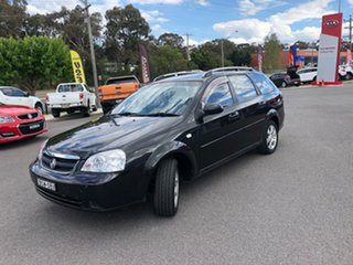 2008 Holden Viva JF MY09 Black 5 Speed Manual Wagon.