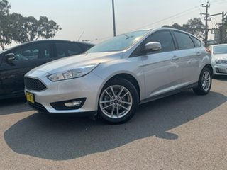 2018 Ford Focus LZ Trend Silver 6 Speed Automatic Hatchback.
