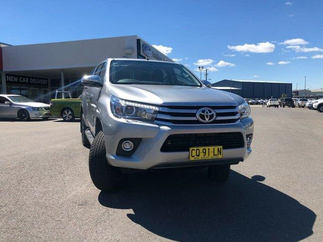 Used Toyota Hilux GUN126R SR5, 2018 Toyota Hilux GUN126R SR5 Grey 6 Speed Sports Automatic Dual Cab Utility
