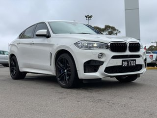 2018 BMW X6 M F86 M White 8 Speed Sports Automatic Wagon.