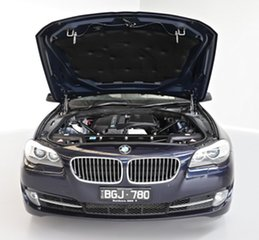 2010 BMW 5 Series F10 535i Steptronic Blue 8 Speed Sports Automatic Sedan