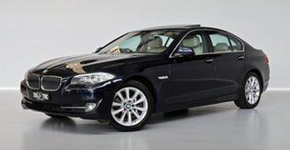 2010 BMW 5 Series F10 535i Steptronic Blue 8 Speed Sports Automatic Sedan.