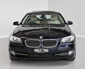 2010 BMW 5 Series F10 535i Steptronic Blue 8 Speed Sports Automatic Sedan.