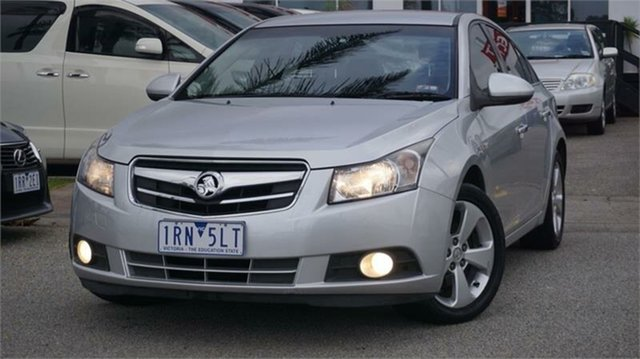 Used Holden Cruze JG CDX Cheltenham, 2010 Holden Cruze JG CDX Silver 6 Speed Sports Automatic Sedan