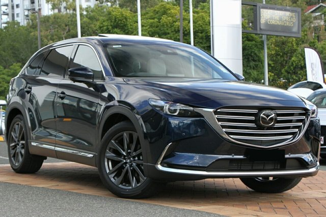New Mazda CX-9 TC Azami SKYACTIV-Drive i-ACTIV AWD Newstead, 2020 Mazda CX-9 TC Azami SKYACTIV-Drive i-ACTIV AWD Deep Crystal Blue 6 Speed Sports Automatic Wagon