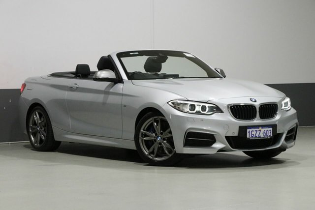 Used BMW M240i F23 MY18 M240I, 2017 BMW M240i F23 MY18 M240I Silver 8 Speed Automatic Convertible