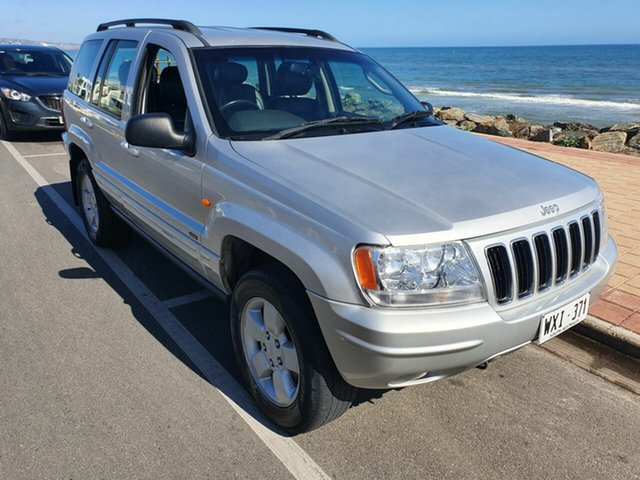 Used Jeep Cherokee KJ MY2003 Limited, 2003 Jeep Cherokee KJ MY2003 Limited Silver Frost 4 Speed Automatic Wagon