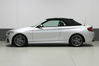 2017 BMW M240i F23 MY18 M240I Silver 8 Speed Automatic Convertible