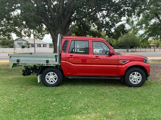 New Mahindra Pik-Up MY18 S10, 2018 Mahindra Pik-Up MY18 S10 Red 6 Speed Manual Cab Chassis