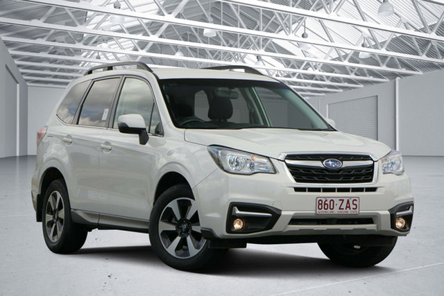 Used Subaru Forester MY18 2.5I-L, 2018 Subaru Forester MY18 2.5I-L Crystal White Continuous Variable Wagon