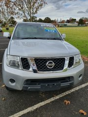 2014 Nissan Navara D40 S7 ST Silver Lightning 6 Speed Manual Utility.