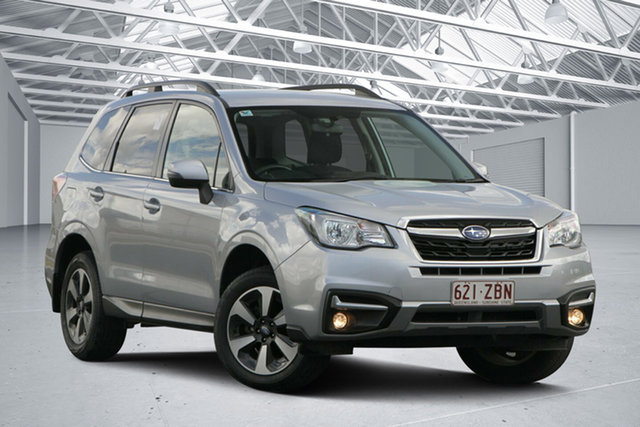 Used Subaru Forester MY18 2.5I-L, 2017 Subaru Forester MY18 2.5I-L Ice Silver Continuous Variable Wagon