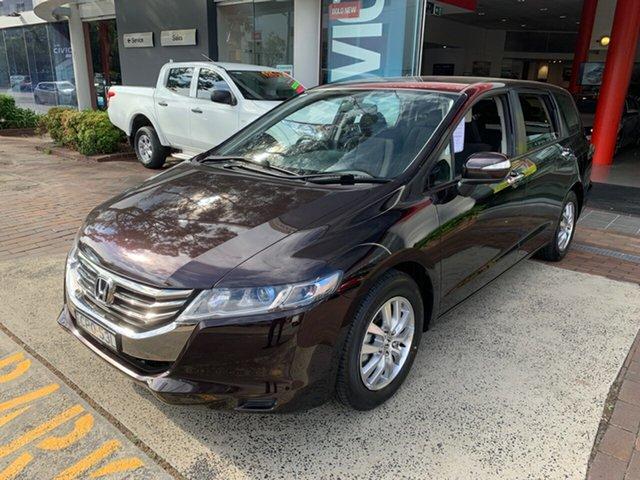 Used Honda Odyssey 4th Gen MY13 , 2013 Honda Odyssey 4th Gen MY13 Purple 5 Speed Sports Automatic Wagon