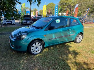 2007 Ford Fiesta WQ LX Green 4 Speed Automatic Hatchback