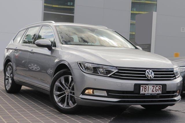 Demo Volkswagen Passat 3C (B8) MY19 132TSI DSG, 2019 Volkswagen Passat 3C (B8) MY19 132TSI DSG Pyrit Silver Metallic 7 Speed