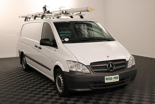Used Mercedes-Benz Vito 639 MY13 113CDI LWB, 2013 Mercedes-Benz Vito 639 MY13 113CDI LWB White 5 speed Automatic Van