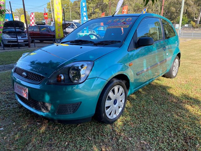 Used Ford Fiesta WQ LX, 2007 Ford Fiesta WQ LX Green 4 Speed Automatic Hatchback