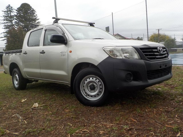 Used Toyota Hilux TGN16R MY10 Workmate 4x2, 2011 Toyota Hilux TGN16R MY10 Workmate 4x2 5 Speed Manual Utility