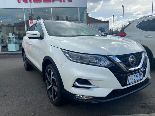 Demo Nissan Qashqai J11 Series 3 MY20 Ti X-tronic, 2019 Nissan Qashqai J11 Series 3 MY20 Ti X-tronic Ivory Pearl 1 Speed Constant Variable Wagon