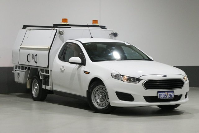 Used Ford Falcon FG X (LPi), 2014 Ford Falcon FG X (LPi) White 6 Speed Automatic Cab Chassis