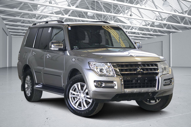 Used Mitsubishi Pajero NX MY18 Exceed LWB (4x4), 2018 Mitsubishi Pajero NX MY18 Exceed LWB (4x4) Silver 5 Speed Auto Sports Mode Wagon
