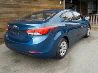 2015 Hyundai Elantra MD3 Active Blue 6 Speed Sports Automatic Sedan.