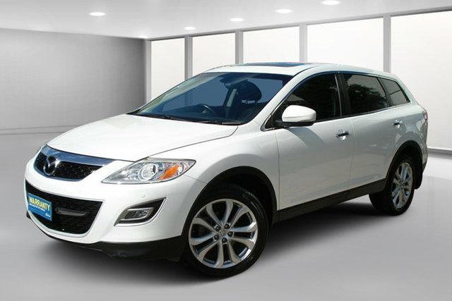 Used Mazda CX-9 TB10A4 MY12 Luxury, 2012 Mazda CX-9 TB10A4 MY12 Luxury White Pearl 6 Speed Sports Automatic Wagon