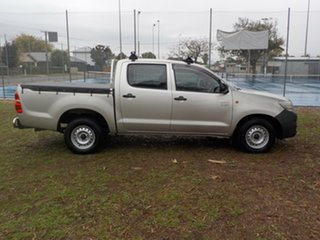 2011 Toyota Hilux TGN16R MY10 Workmate 4x2 5 Speed Manual Utility