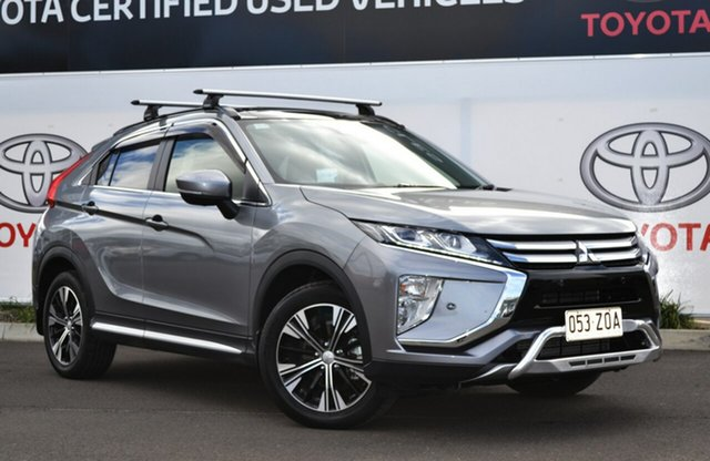 Used Mitsubishi Eclipse Cross YA Exceed (2WD), 2018 Mitsubishi Eclipse Cross YA Exceed (2WD) Silver Continuous Variable Wagon