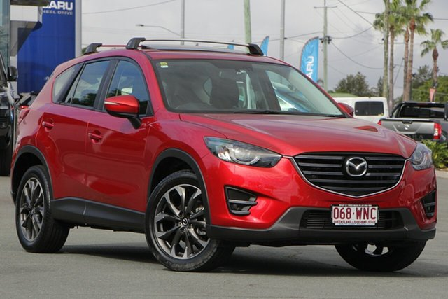 Used Mazda CX-5 KE1022 Grand Touring SKYACTIV-Drive i-ACTIV AWD, 2016 Mazda CX-5 KE1022 Grand Touring SKYACTIV-Drive i-ACTIV AWD Soul Red 6 Speed Sports Automatic