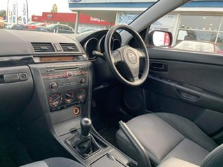 2008 Mazda 3 BK MY06 Upgrade Neo Red 5 Speed Manual Sedan