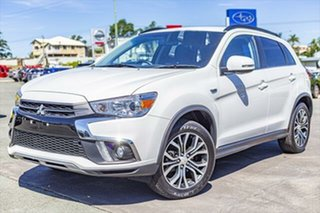 2018 Mitsubishi ASX XC MY19 ES 2WD White 6 Speed Constant Variable Wagon.