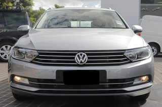 2019 Volkswagen Passat 3C (B8) MY19 132TSI DSG Pyrit Silver Metallic 7 Speed.