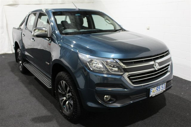 Used Holden Colorado RG MY17 LTZ Pickup Crew Cab 4x2, 2017 Holden Colorado RG MY17 LTZ Pickup Crew Cab 4x2 Blue Mountain 6 Speed Sports Automatic Utility