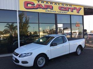 2012 Ford Falcon FG MK2 (LPi) White 6 Speed Automatic Utility.