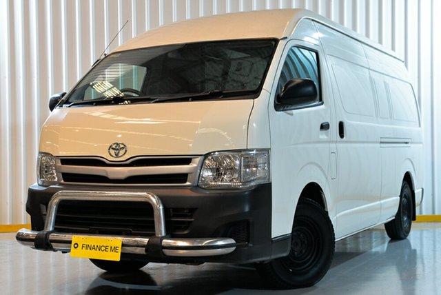 Used Toyota HiAce TRH201R MY11 LWB, 2010 Toyota HiAce TRH201R MY11 LWB White 5 Speed Manual Van