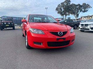 2008 Mazda 3 BK MY06 Upgrade Neo Red 5 Speed Manual Sedan.