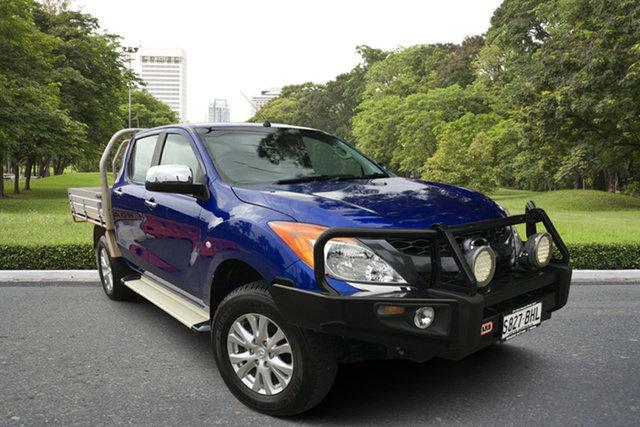 Used Mazda BT-50 UR0YF1 XTR, 2015 Mazda BT-50 UR0YF1 XTR Blue 6 Speed Sports Automatic Utility