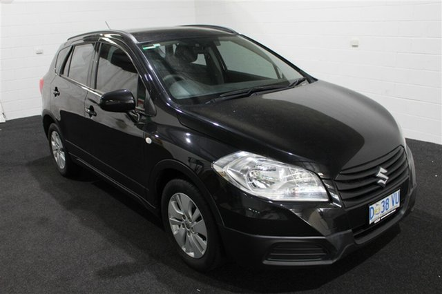 Used Suzuki S-Cross JY GL, 2014 Suzuki S-Cross JY GL Black 7 Speed Constant Variable Hatchback