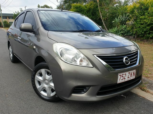 Used Nissan Almera N17 ST, 2012 Nissan Almera N17 ST Grey 5 Speed Manual Sedan