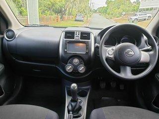 2012 Nissan Almera N17 ST Grey 5 Speed Manual Sedan