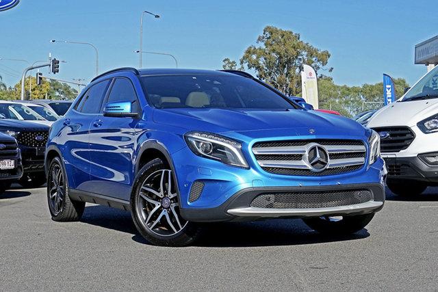 Used Mercedes-Benz GLA180 X156 807MY DCT, 2016 Mercedes-Benz GLA180 X156 807MY DCT Blue 7 Speed Sports Automatic Dual Clutch Wagon
