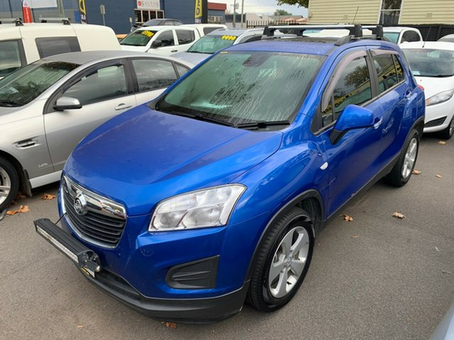 Used Holden Trax TJ MY16 Active, 2016 Holden Trax TJ MY16 Active Blue 6 Speed Automatic Wagon