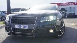 2010 Audi A5 8T Black 7 Speed Sports Automatic Dual Clutch Hatchback