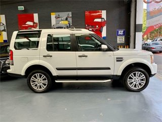 2012 Land Rover Discovery 4 Series 4 SDV6 SE White Sports Automatic Wagon