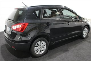 2014 Suzuki S-Cross JY GL Black 7 Speed Constant Variable Hatchback.