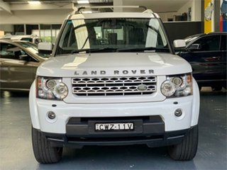 2012 Land Rover Discovery 4 Series 4 SDV6 SE White Sports Automatic Wagon.