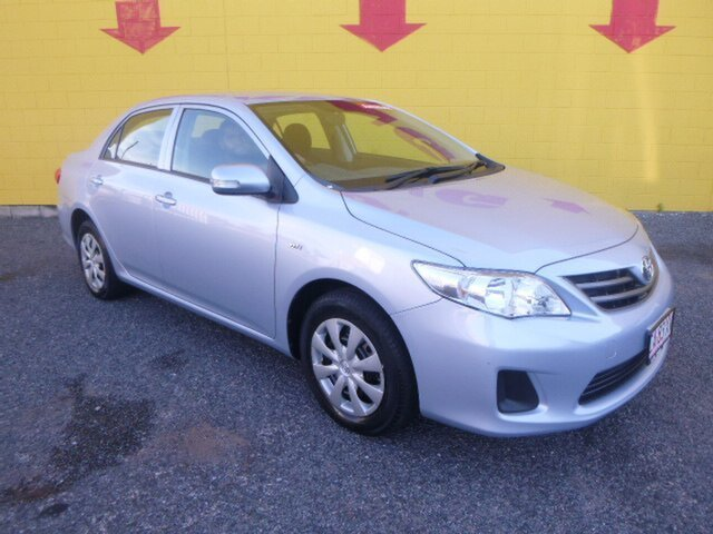 Used Toyota Corolla ZRE152R Ascent, 2013 Toyota Corolla ZRE152R Ascent White 4 Speed Automatic Sedan