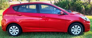 2016 Hyundai Accent RB4 MY16 Active Red 6 Speed Manual Hatchback.